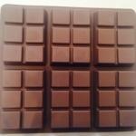 แม่พิมพ์ซิลิโคน รูปแท่งช็อกโกแลต 110g
