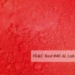 FD&C Red No.40 Lake 50g ละลายน้ำมัน