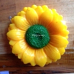 แม่พิมพ์ รูปดอกทานตะวัน 180g 3 ช่อง