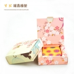 กล่องใส่สบู่กระดาษลายดอกไม้ 10 ชิ้น (4293)