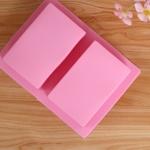 แม่พิมพ์ สี่เหลี่ยม 2 ช่อง 5*8*3 cm