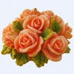 แม่พิมพ์ รูปดอกกุหลาบ 100g