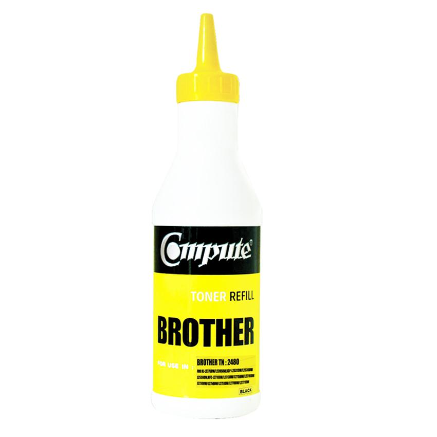 ผงหมึกเติม BROTHER TN-2480 คอมพิวท์ (Refill Toner)