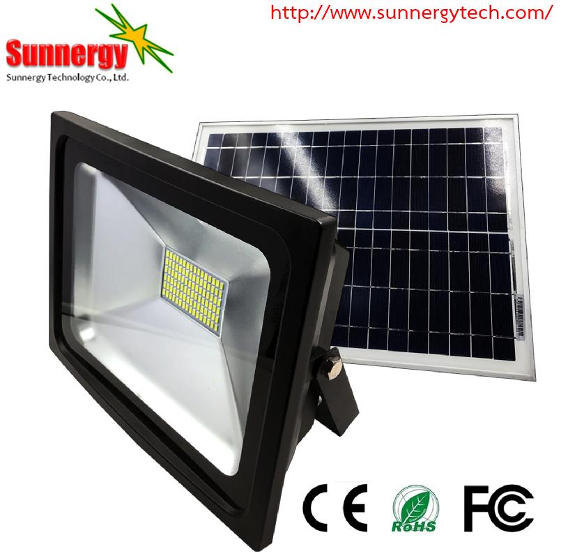 โคมไฟ LED Solar Flood Light ขนาด 50W 18V รุ่น STCLF-TSGS50W1