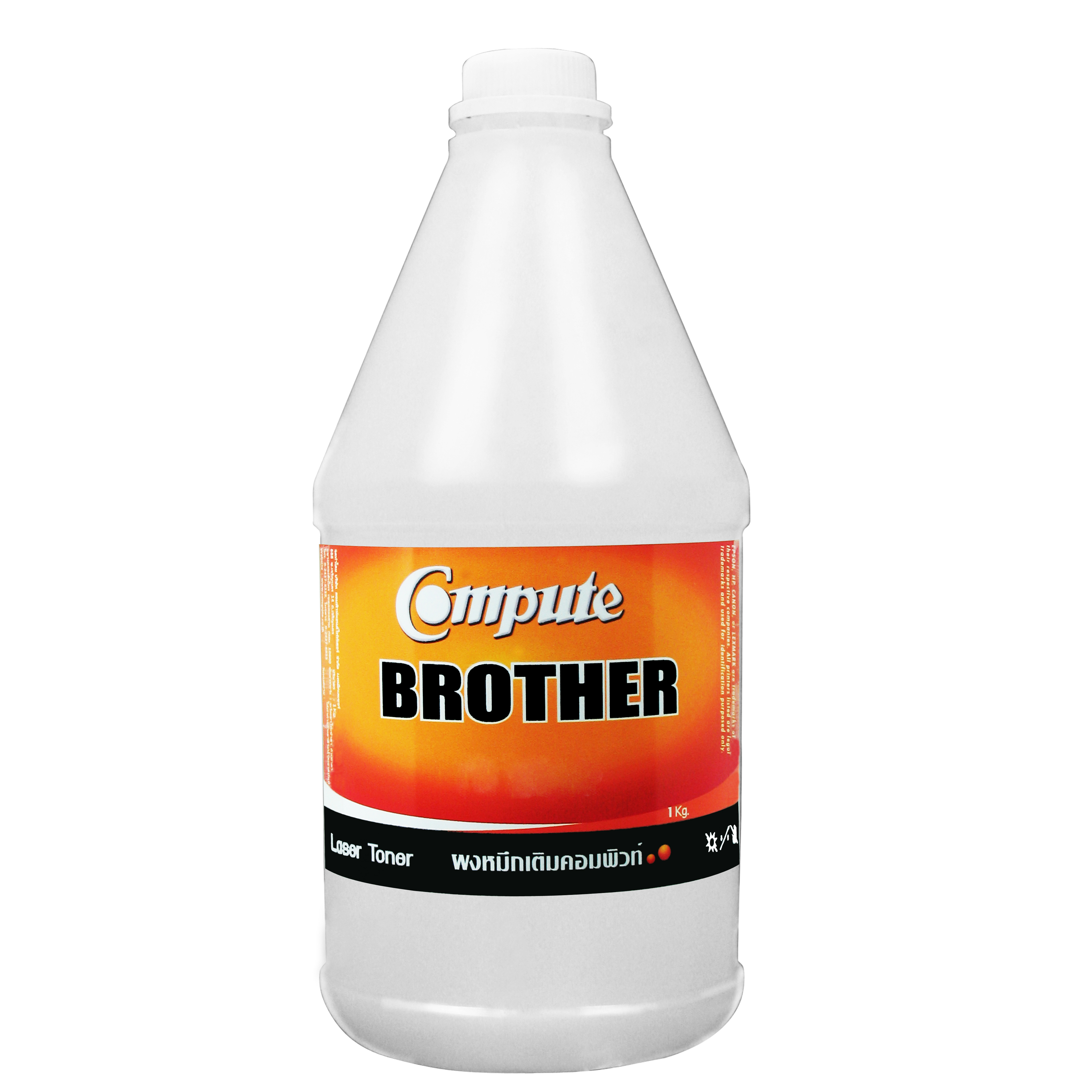 ผงหมึกเติม BROTHER TN-240 Cyan คอมพิวท์ (Refill Toner) 1 กิโลกรัม