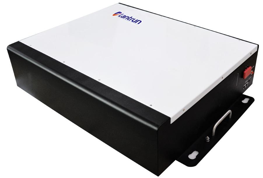 Inverter (หม้อแปลงไฟฟ้า) แบตเตอรี่สำหรับอินเวอร์เตอร์ 5.0kWh/51.2V/100Ah สำหรับ Lantrun Inverter