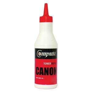 ผงหมึกเติมพร้อมชิป คอมพิวท์ Canon 307 สีน้ำเงิน Refill Toner Cyan