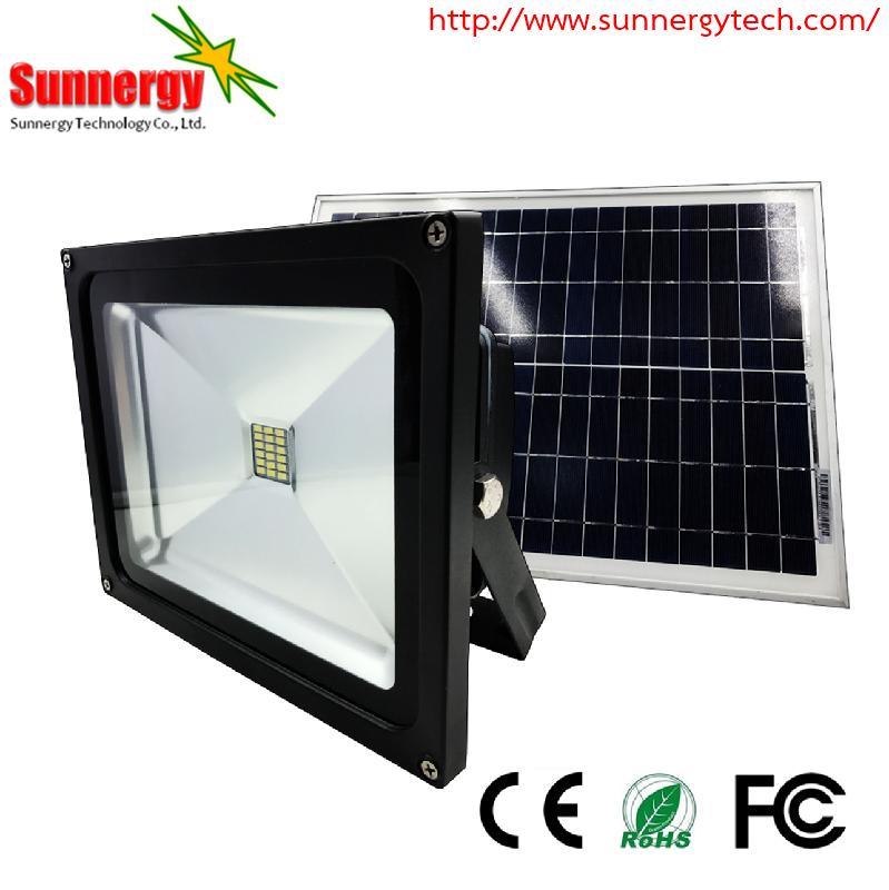 โคมไฟ LED Solar Flood Light ขนาด 10W 12V รุ่น STCLF-TSGS10W1