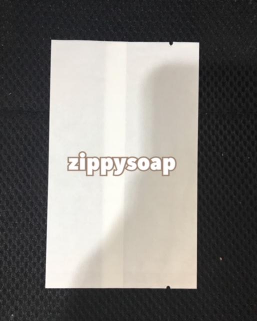 ถุงกระดาษขาว ใช้เครื่องซีล 100 ใบ 8*13 cm 100g