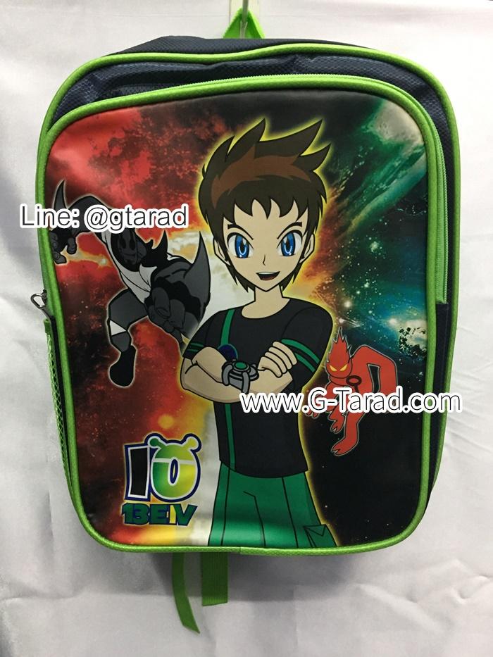 """กระเป๋านักเรียน HighSchool 14x11.5x5"""" สกรีนการ์ตูนดิจิตอล"""