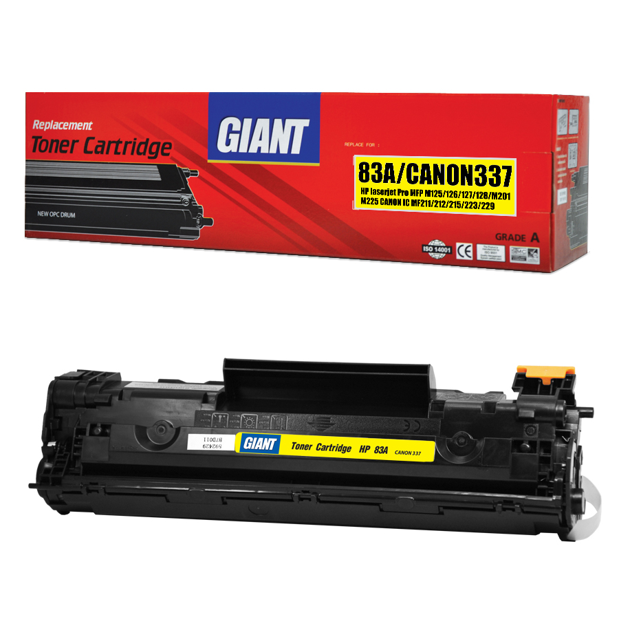 GIANT HP LaserJet Pro MFP M225d ตลับหมึกเลเซอร์ดำ HP รุ่น CF283A (Black)