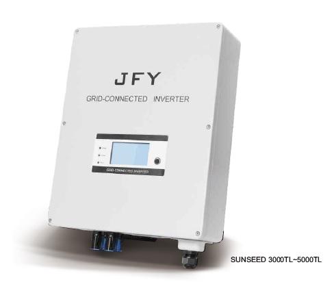 Inverter (หม้อแปลงไฟฟ้า) รุ่น Grid Tie Sunseed-5000TL