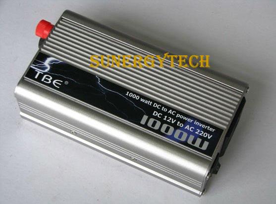 Inverter (หม้อแปลงไฟฟ้า) รุ่น MSW-1000W 12V TBE