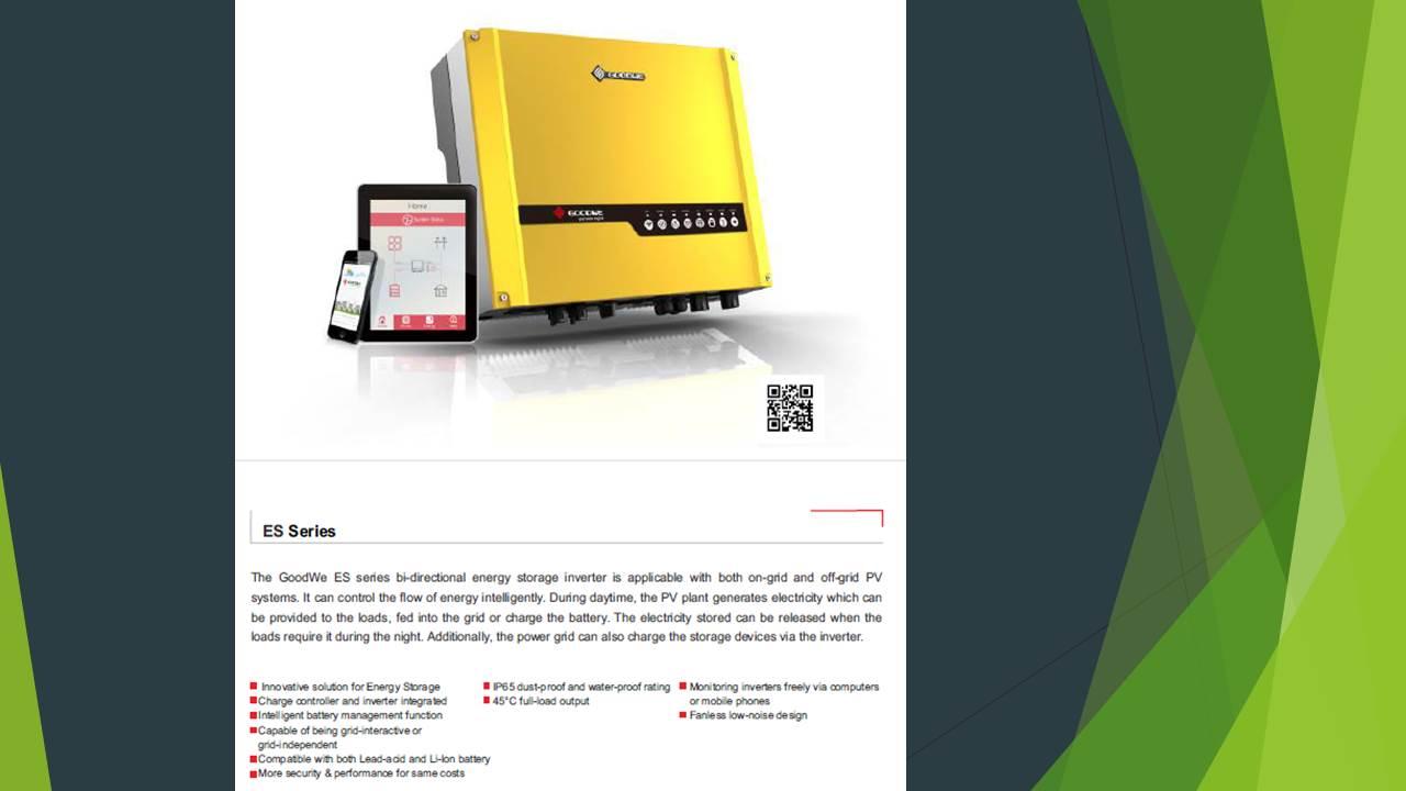 Goodwe inverter GW5048D-ES