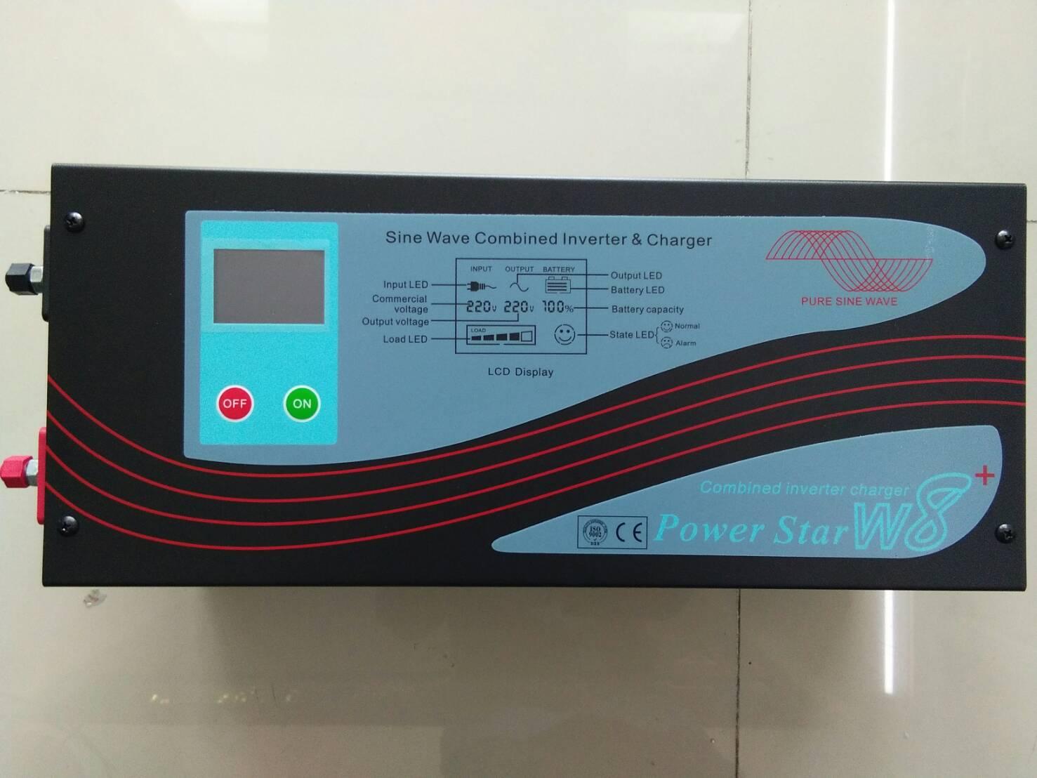 Inverter (หม้อแปลงไฟฟ้า) 1000W Input 24V , Output 220V