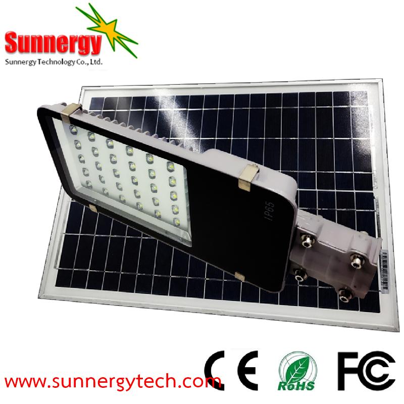 โคมไฟ LED Solar Street Light ขนาด 30W รุ่น STCLF-SLS30W