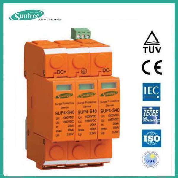 Surge แบบ SPD DC ขนาด 20-40kA 1000V 3P (SNT)