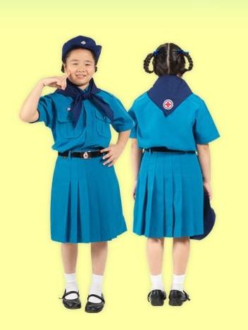เสื้อนักเรียนตราสมอ ยุวกาชาด