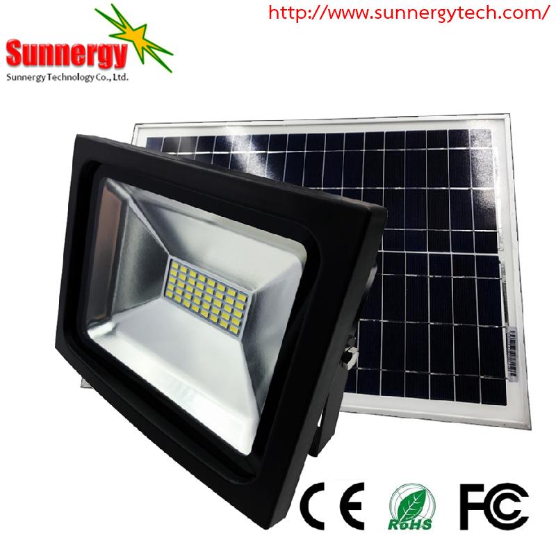 โคมไฟ LED Solar Flood Light ขนาด 20W 12V รุ่น STCLF-TSGS20W2