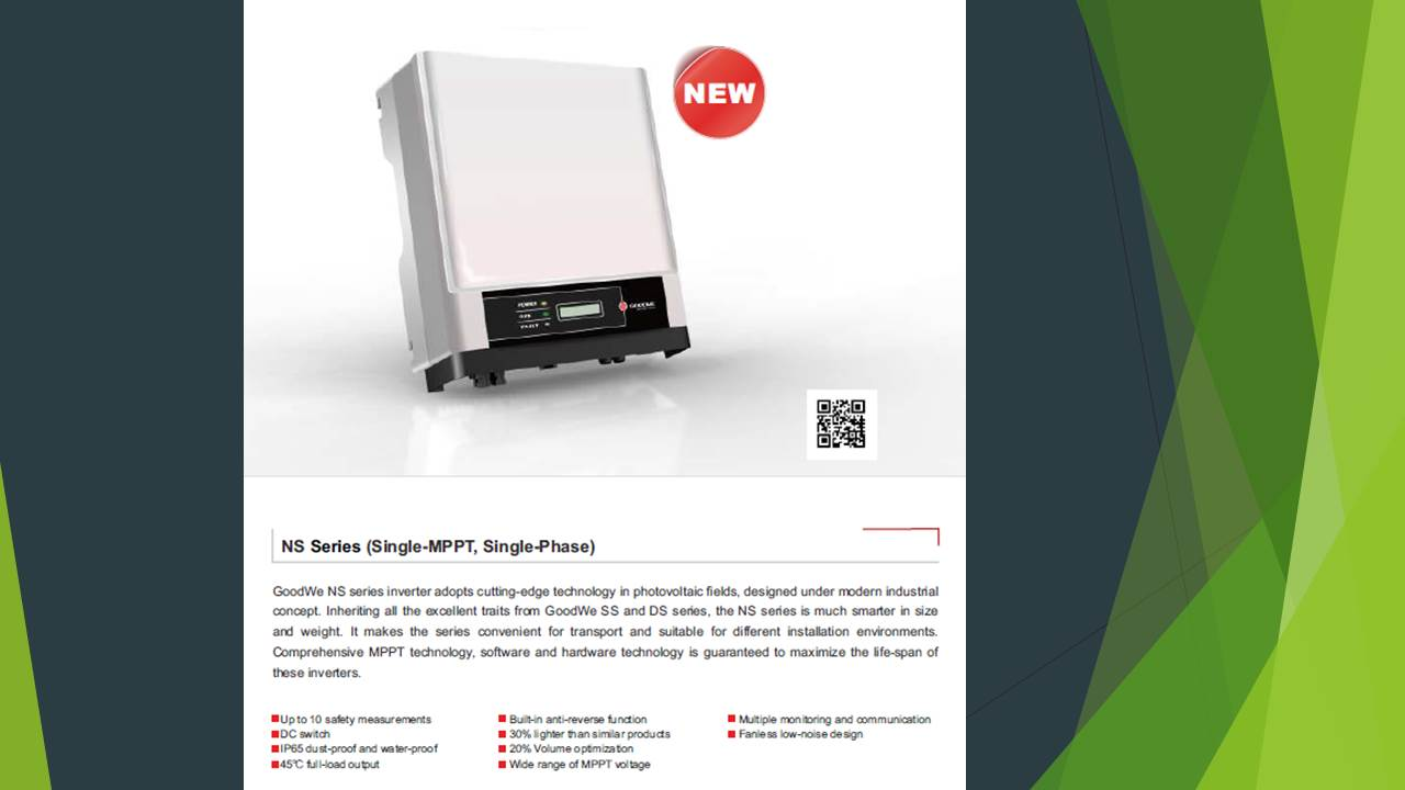 Goodwe inverter GW3600‐NS