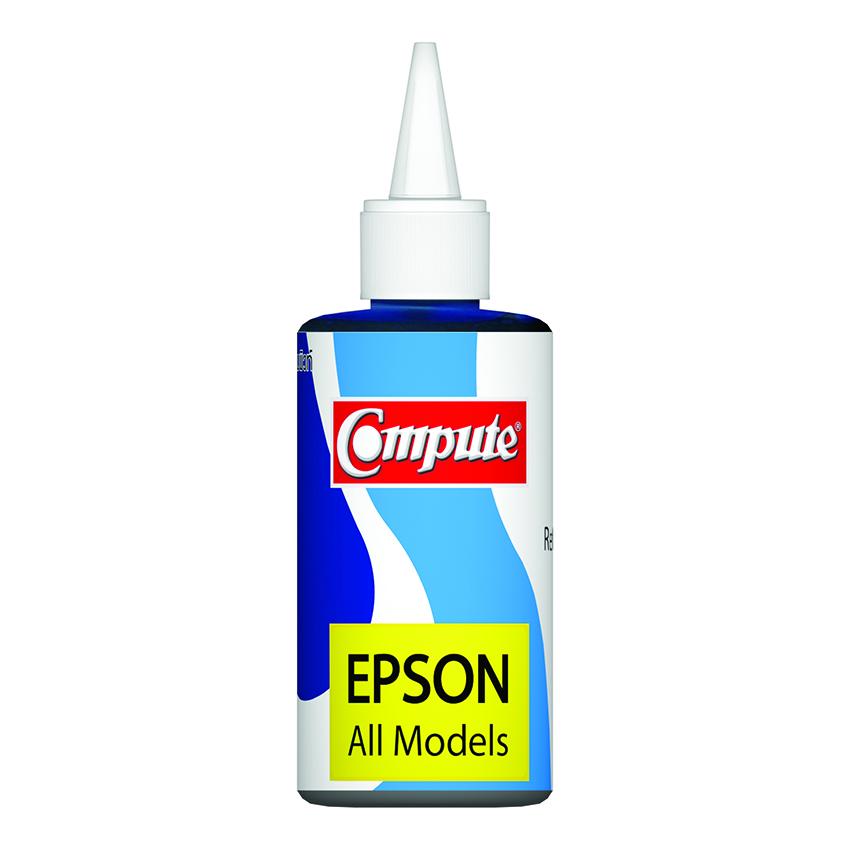น้ำหมึกเติม (Refill Inkjet) คอมพิวท์ For EPSON All model สีน้ำเงิน