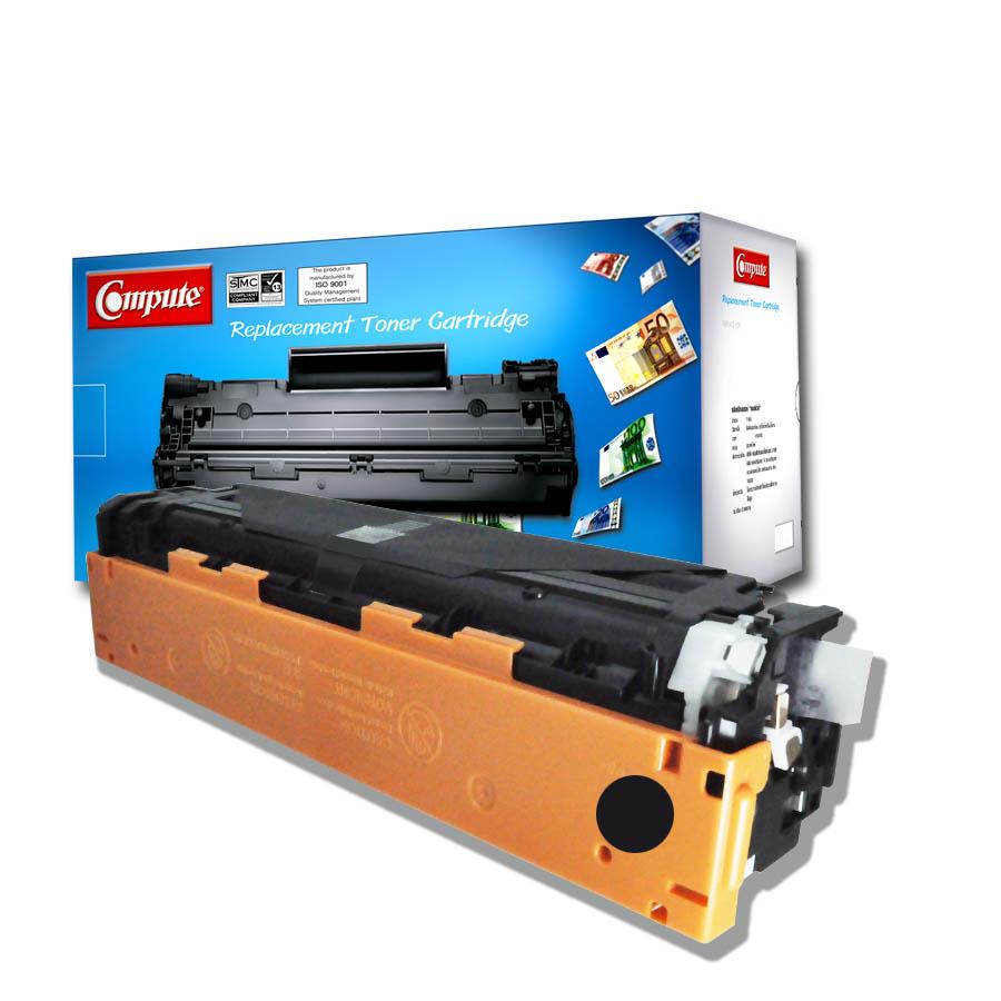 ตลับหมึกเลเซอร์(Toner Cartridge) คอมพิวท์ For Canon 318,418,718 (Black)