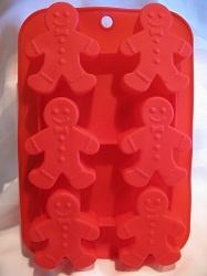 แม่พิมพ์ซิลิโคน รูป gingerbread man