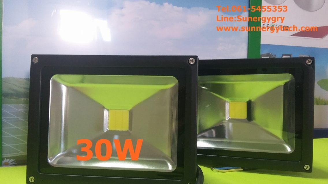 หลอดไฟ LED-FL ขนาด 30W 220V 6000K(3y warranty)TPT