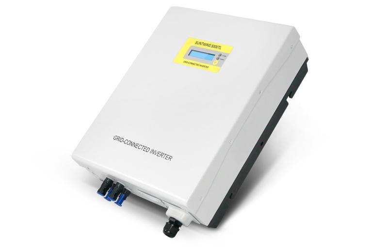 Inverter (หม้อแปลงไฟฟ้า) รุ่น Grid Tie Suntwins-5000TL