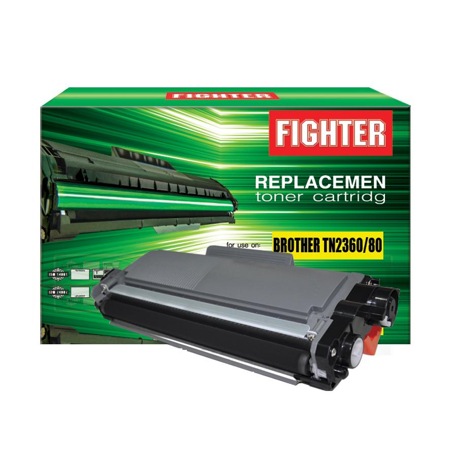 ตลับหมึกเลเซอร์ BROTHER TN2360/TN2380 FIGHTER (Toner Cartridge)