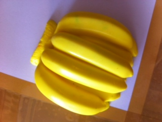 แม่พิมพ์ รูปกล้วยหวี 120g 5หลุม