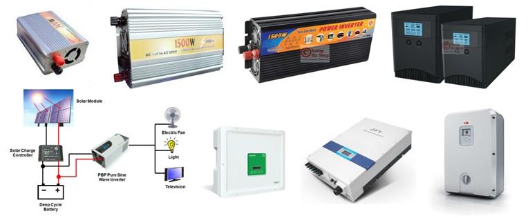เครื่องแปลงไฟ อินเวอร์เตอร์ คอนเวอร์เตอร์ สำหรับรถยนต์ โซล่าเซลล์ และงานอุตสาหกรรม