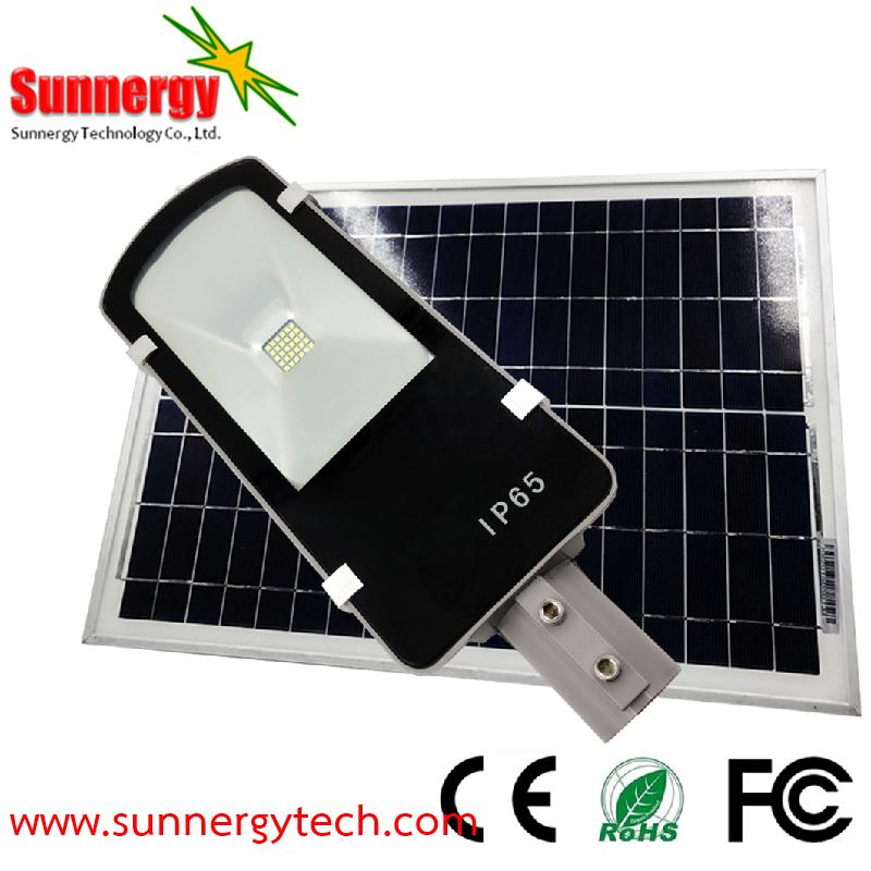 โคมไฟ LED Solar Street Light ขนาด 20W รุ่น STCLF-SLS20W