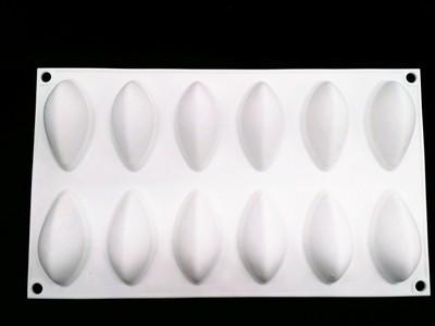 เเม่พิมพ์ ซิลิโคน เมล็ดข้าว 3.5*7*3 25 g