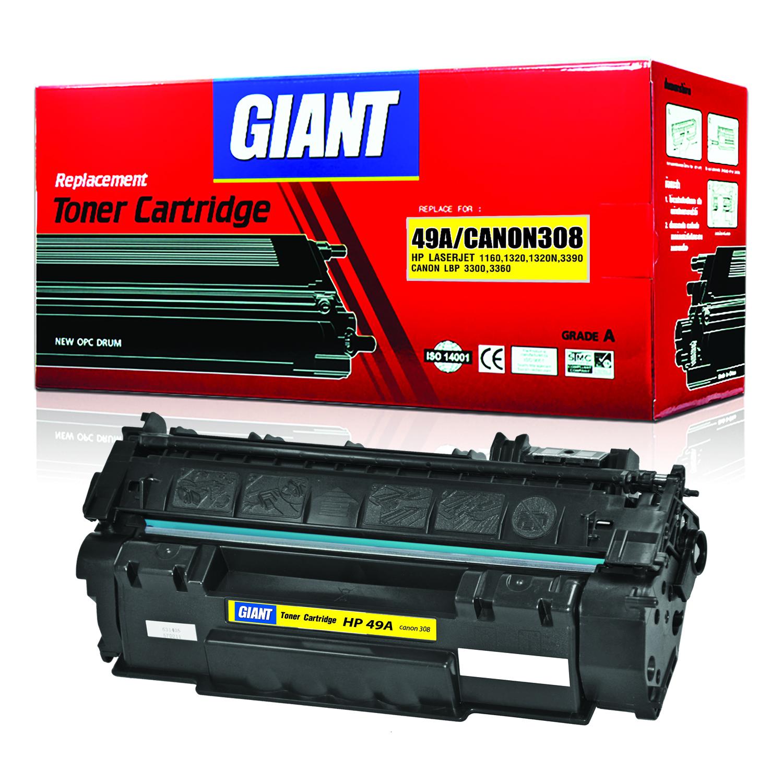Giant Canon LBP3360 ตลับหมึกเลเซอร์ดำ Cartridge 308 (Black)