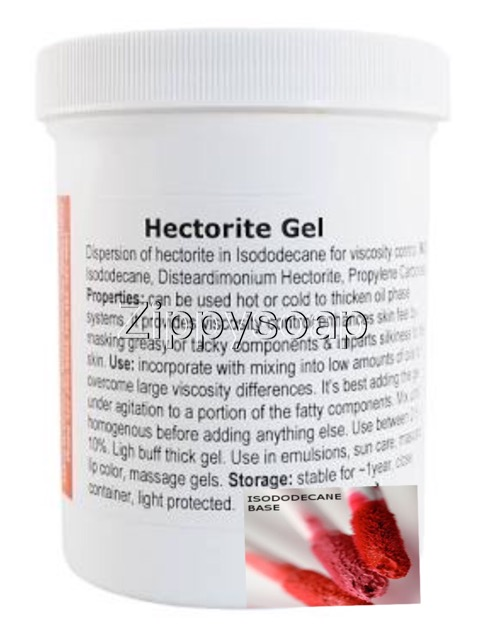Hectorite Gel +Isododecane จับเม็ดสี 100g
