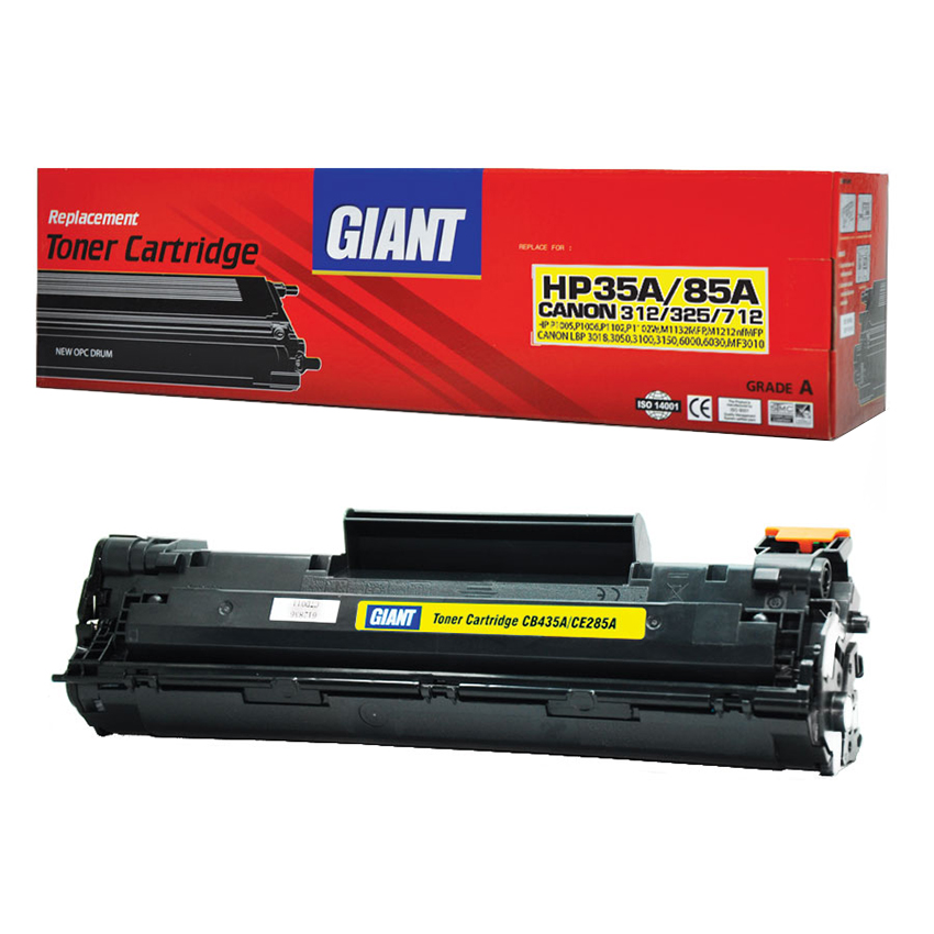 GIANT HP LaserJet Pro P1102W ตลับหมึกเลเซอร์ดำ HP รุ่น CE285A