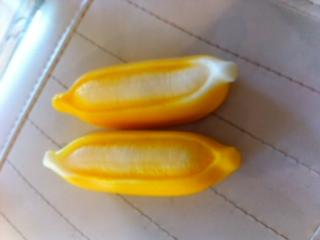 แม่พิมพ์ซิลิโคนกล้วย 5 ช่อง 110g