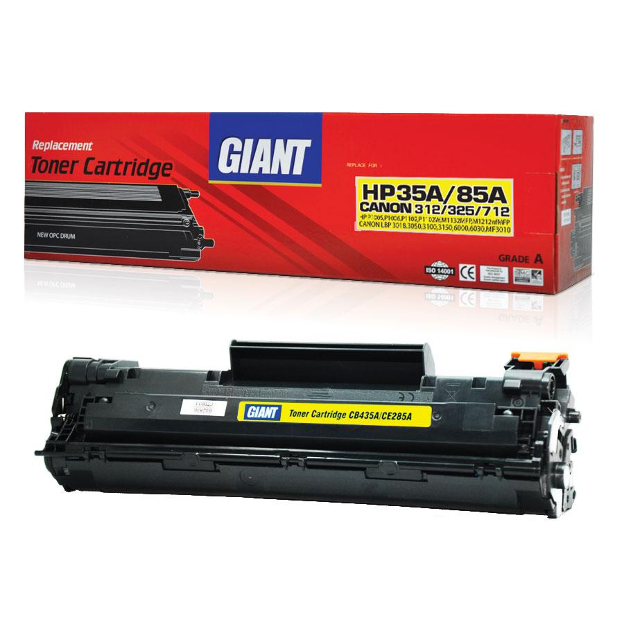 GIANT HP LaserJet Pro P1102 ตลับหมึกเลเซอร์ดำ HP รุ่น CE285A Black