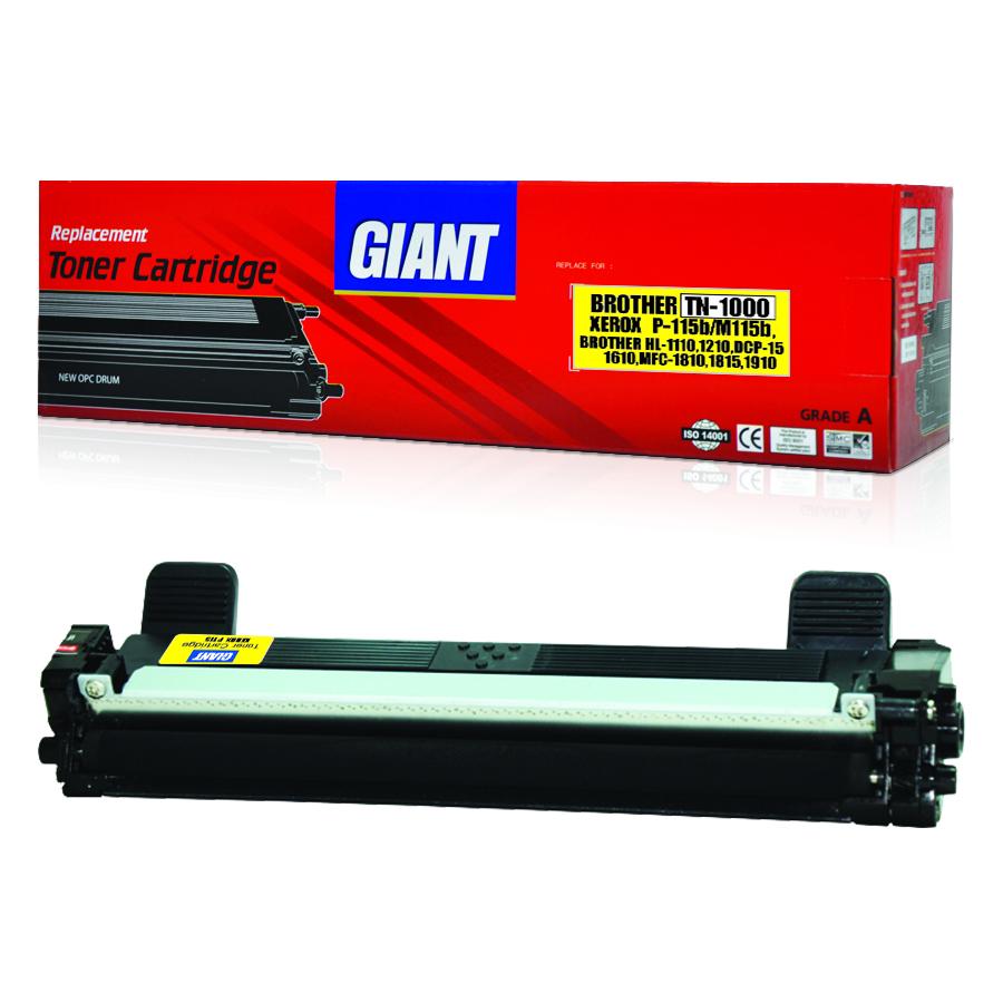 GIANT BROTHER HL-1112/E/R ตลับหมึกเลเซอร์ดำ รุ่น TN1000 (Black)