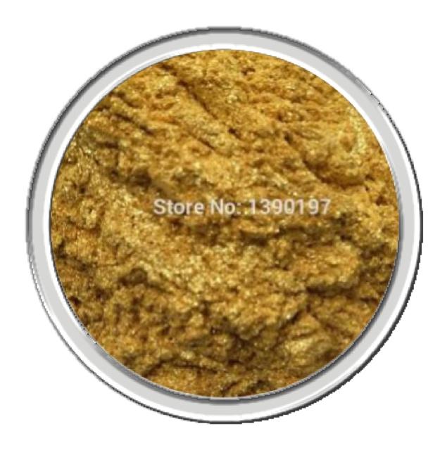 mica สีเหลืองทองคริสตัล crystal fine gold 30 g
