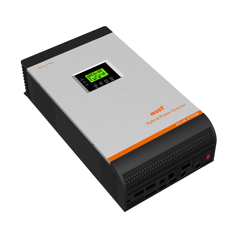 Inverter (หม้อแปลงไฟฟ้า) รุ่น Off Grid 48VDC-4KVA/3200W, 60A MPPT charger, 60A AC Charger