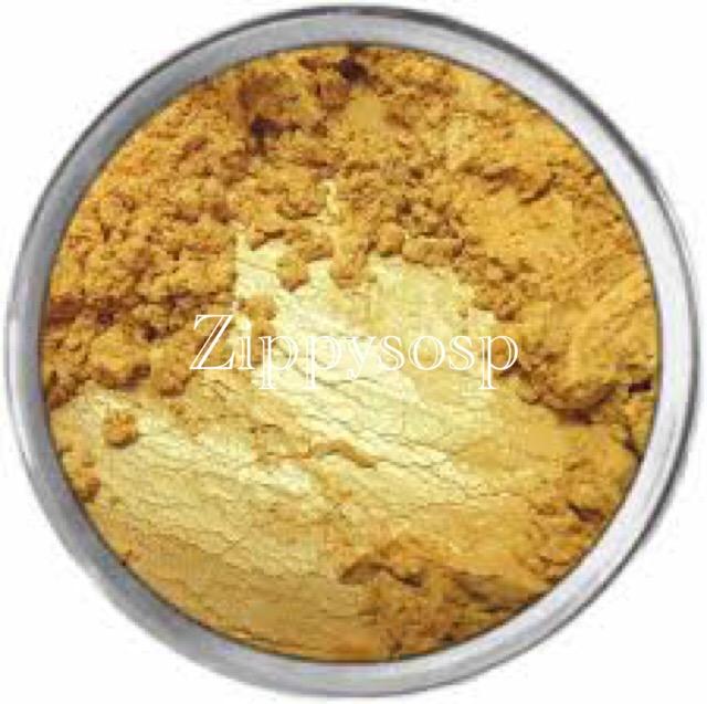 micaสีทองคำแท้ pure gold 30g