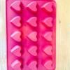 แม่พิมพ์ รูปหัวใจ 15 ช่อง ขนาด 2.2x2.5x1.4cm