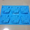 แม่พิมพ์ซิลิโคน ช้าง 6 ช่อง **
