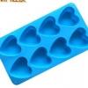 แม่พิมพ์ซิลิโคน หัวใจ 8 ช่อง