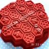 พิมพ์ซิลิโคน รวงผึ้ง เล็ก 4.5*4.2*1.5 cm**