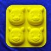 แม่พิมพ์ซิลิโคน รูปหมีพห์ 4 ช่อง