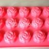 แม่พิมพ์ซิลิโคลนรูปดอกกุหลาบขนาด 30-35 กรัม