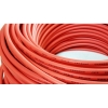 Cable & Connector (สายไฟ) แบบ PV-1F 4mm2 Red